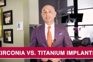 Zirconia vs titanium implants